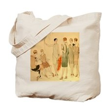 1920s Summer Fashion Tote Bag