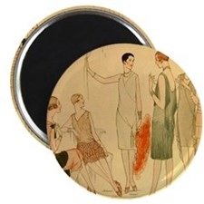 1920s Summer Fashion Magnet