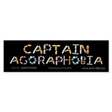 Captain Agoraphobia Bumper Bumper Sticker