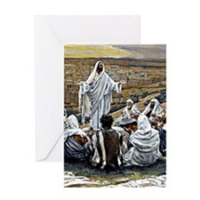 The Lord's Prayer, painting by James Greeting Card