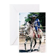 Andalusian Horse Costume Greeting Cards