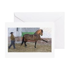 Andalusian Ground Work Greeting Cards