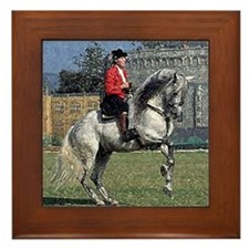 Andalusian Gymnastics Framed Tile