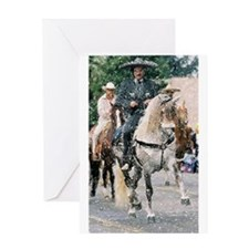 Andalusian Parade Horse Greeting Cards