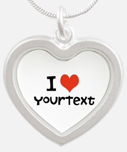 CUSTOMIZE I heart Necklaces