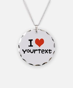 CUSTOMIZE I Heart Necklace