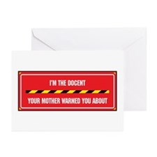 I'm the Docent Greeting Cards (Pk of 10)