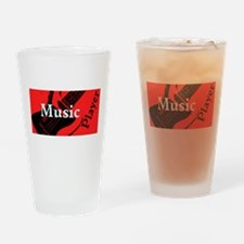 Music Player Drinking Glass
