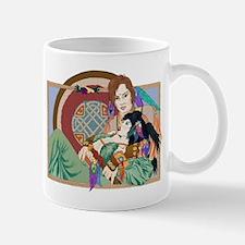 Aengus and Caer Mugs