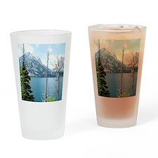 Grand Teton National Park. Landscap Drinking Glass