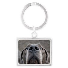 The Great Dane nose Landscape Keychain