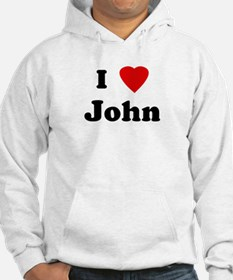 I Love John Jumper Hoody