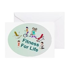 Fitness For Life Greeting Card