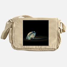 Diamond Prism Messenger Bag