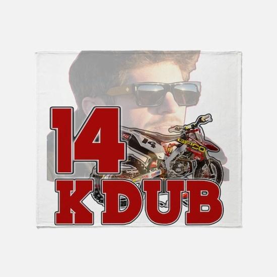 KDub14 Throw Blanket