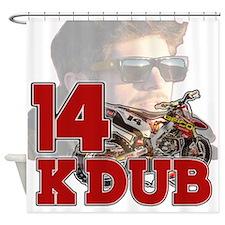 KDub14 Shower Curtain