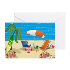 Beach Fun Greeting Card