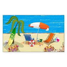 Beach Fun Decal