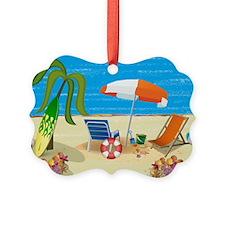 Beach Fun Ornament