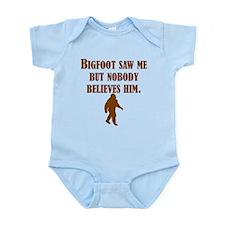 Bigfoot Saw Me Body Suit