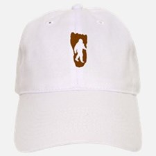 Bigfoot Footprint Baseball Baseball Baseball Cap