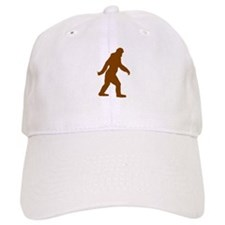 Bigfoot Silhouette Baseball Baseball Cap