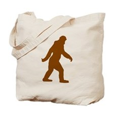 Bigfoot Silhouette Tote Bag