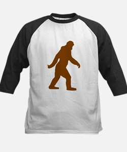 Bigfoot Silhouette Baseball Jersey