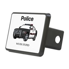 Police We Fix Stupid Hitch Cover