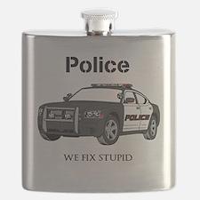 Police We Fix Stupid Flask