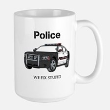Police We Fix Stupid Mugs