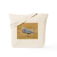 Great Blue Heron (Autumn) Tote Bag