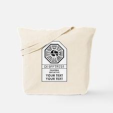 Custom Dharma Label Tote Bag