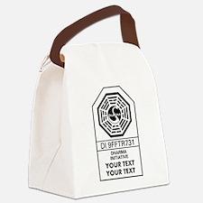 Custom Dharma Label Canvas Lunch Bag