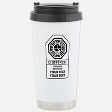 Custom Dharma Label Travel Mug