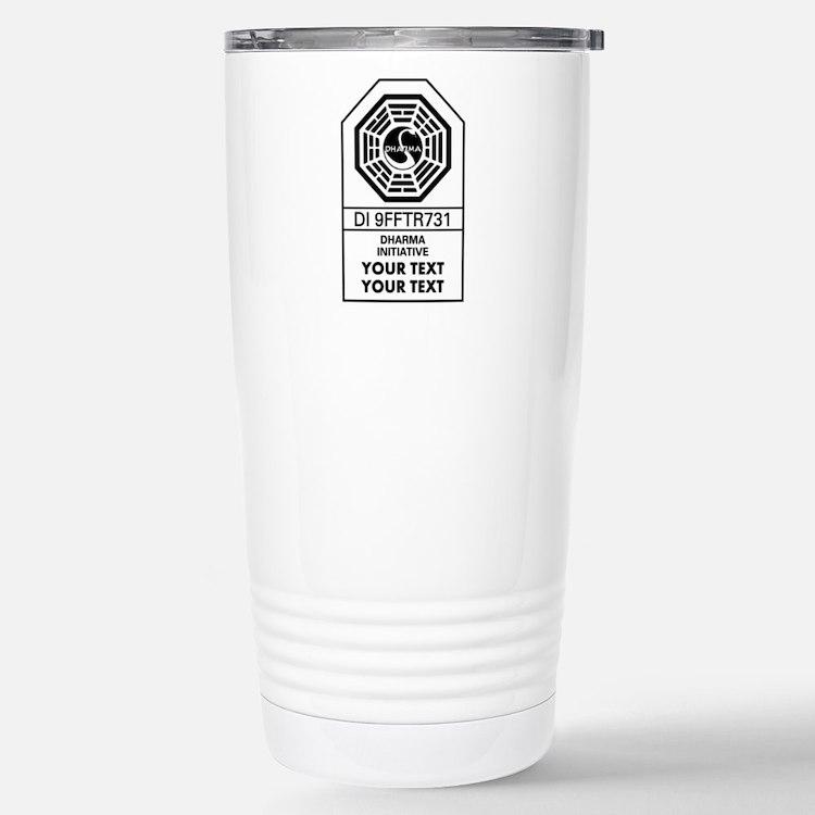Custom Dharma Label Travel Mug