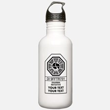 Custom Dharma Label Water Bottle