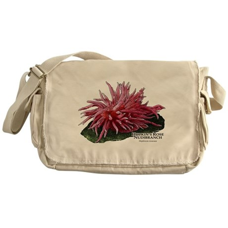 Hopkin's Rose Nudibranch Messenger Bag