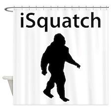 iSquatch Shower Curtain