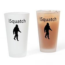 iSquatch Drinking Glass