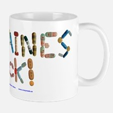Migraines Suck! White Mugs