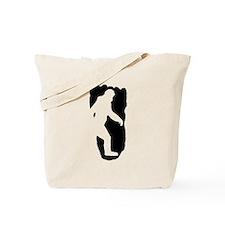 Bigfoot Footprint Tote Bag