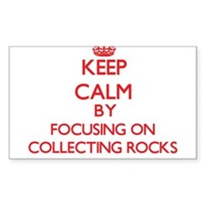 Keep calm by focusing on on Collecting Rocks Stick