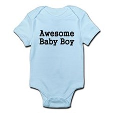 Awesome Baby Boy Body Suit