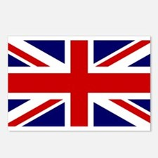 Union Jack Flag of the Un Postcards (Package of 8)