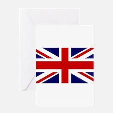 Union Jack Flag of the United Kingdo Greeting Card