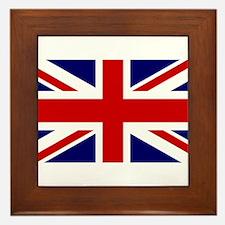 Union Jack Flag of the United Kingdom Framed Tile