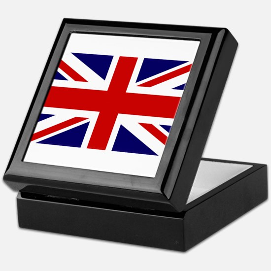 Union Jack Flag of the United Kingdom Keepsake Box