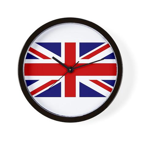Union Jack Flag of the United Kingdom Wall Clock