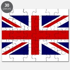 Union Jack Flag of the United Kingdom Puzzle